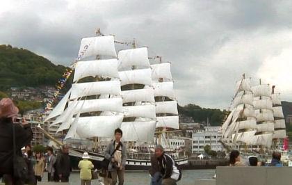 ロシア帆船2隻mm